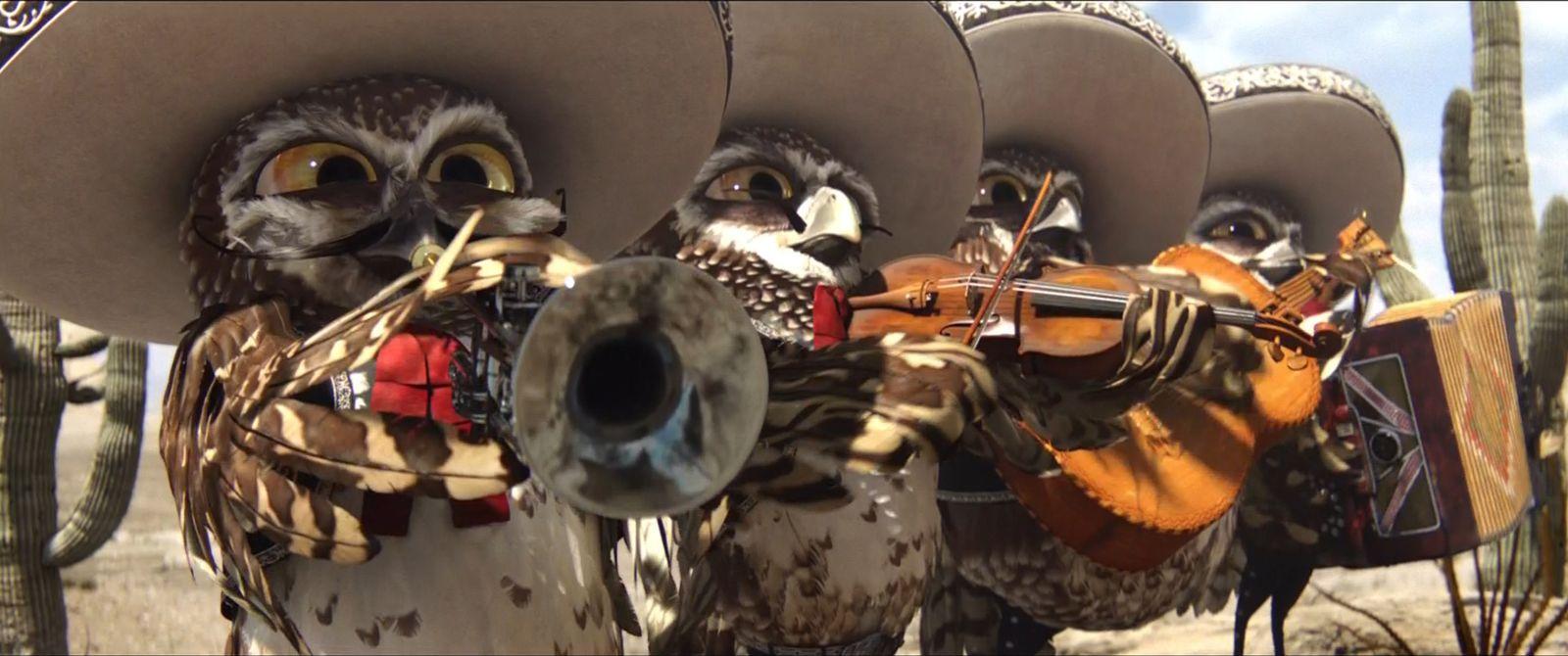 "Owl mariachi band from the movie ""Rango"" Wallpaper, Hd"