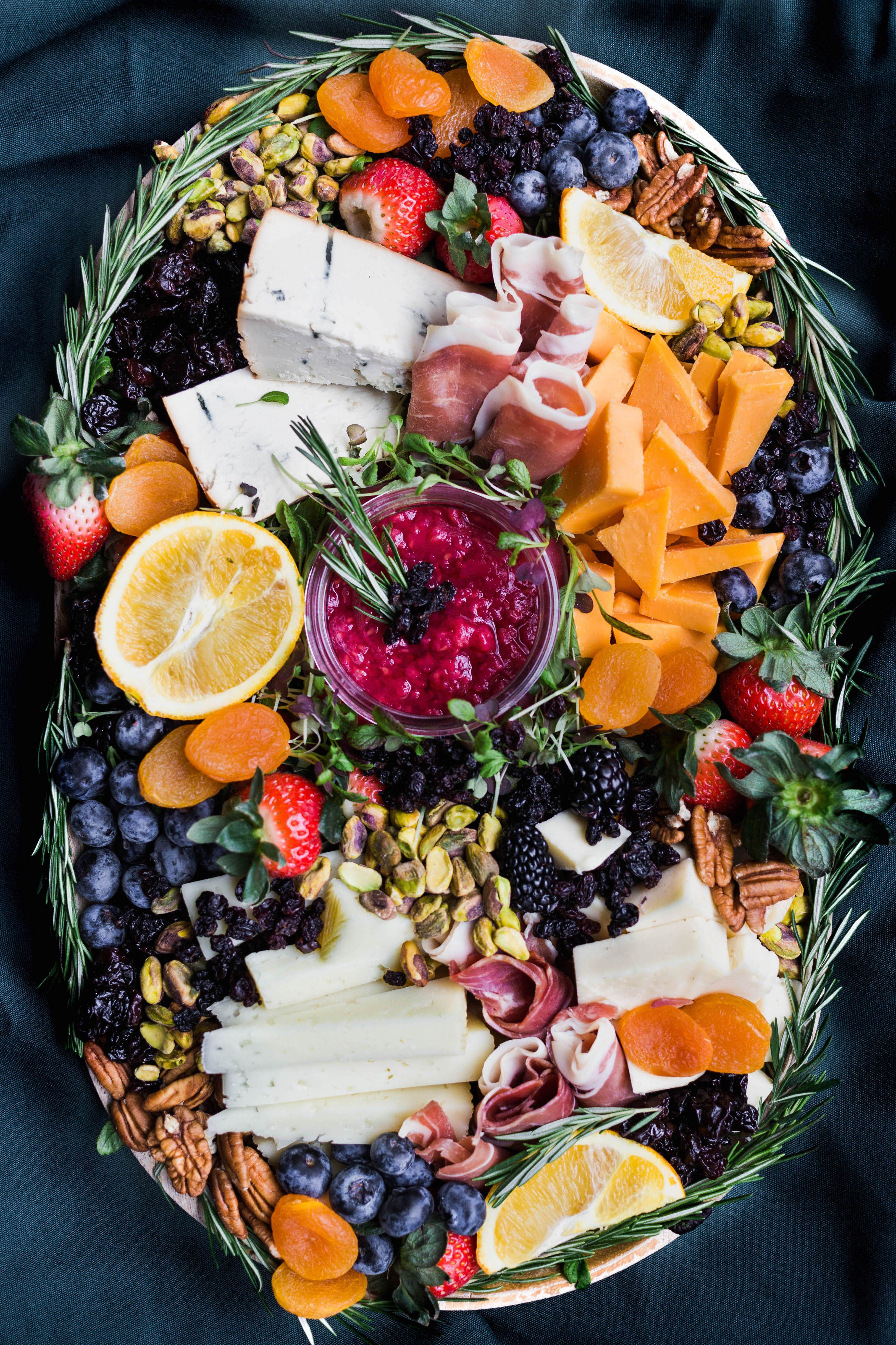 big delicious cheese board design (With images