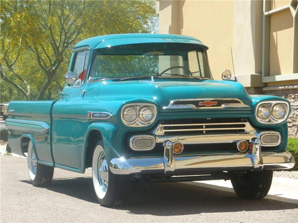 One Of The Original Colors Sherwood Green Chevrolet Apache