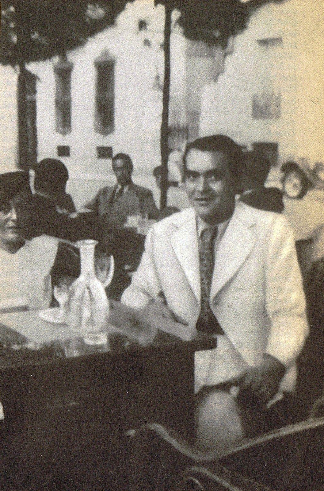 Federico En Su última Fotografía Conocida En Julio De 1936 Días Antes De Ser Fusilado A Los 38 Años Federico Garcia Lorca García Lorca Federico Garcia
