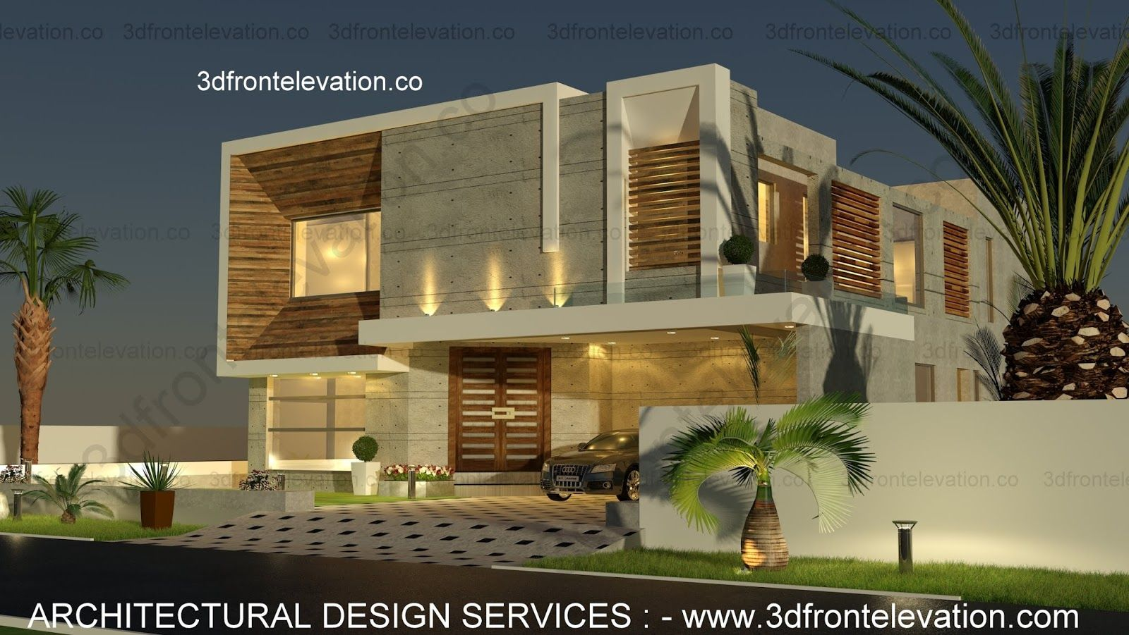 Contemporary Ultra Modern Minimalist 1 kanal Modern House ...