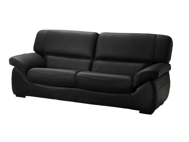 Canape Fixe En Cuir 2 Places Lory Canape Cuir Conforama Sofa Couch Furniture
