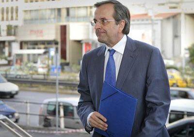 Yunanistan'da Samaras hükümet kurma yetkisini geri veriyor