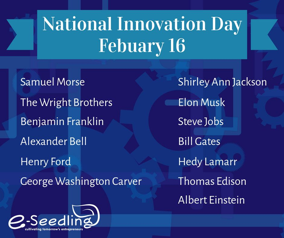 Happy National Innovation Day! Who is your favorite