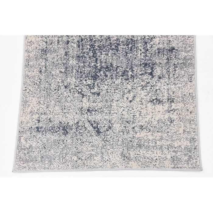 You Ll Love The Abbeville Gray Dark Blue Area Rug At