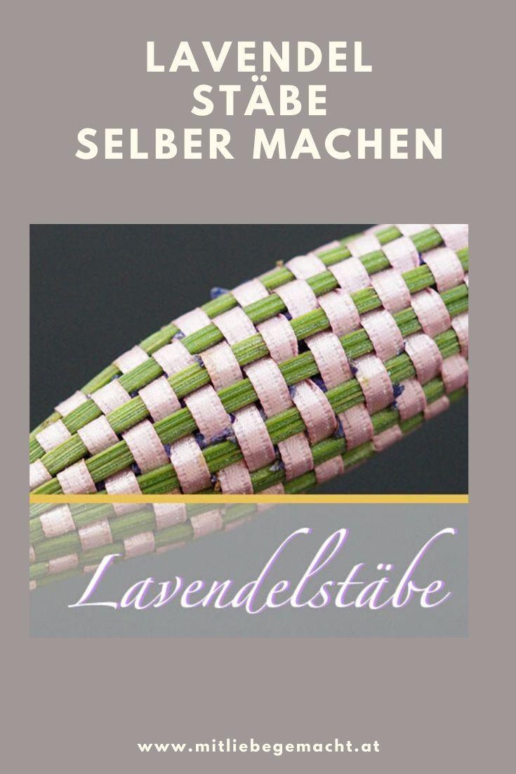 Photo of Lavendelstäbe – Duftsäckchen mal anders   ♥ Mit Liebe gemacht