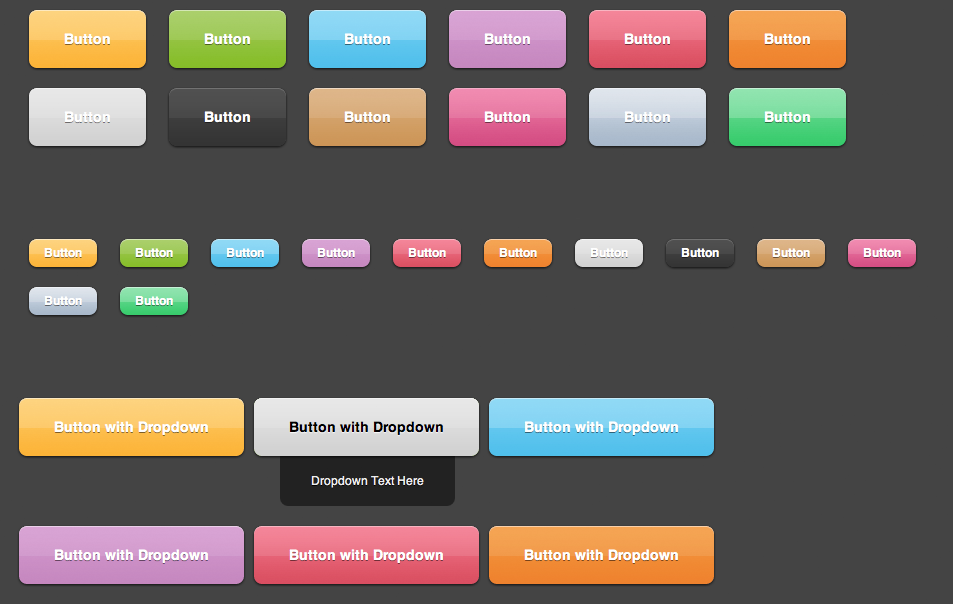 Web Buttons Pack Buttons, Packing, Jquery