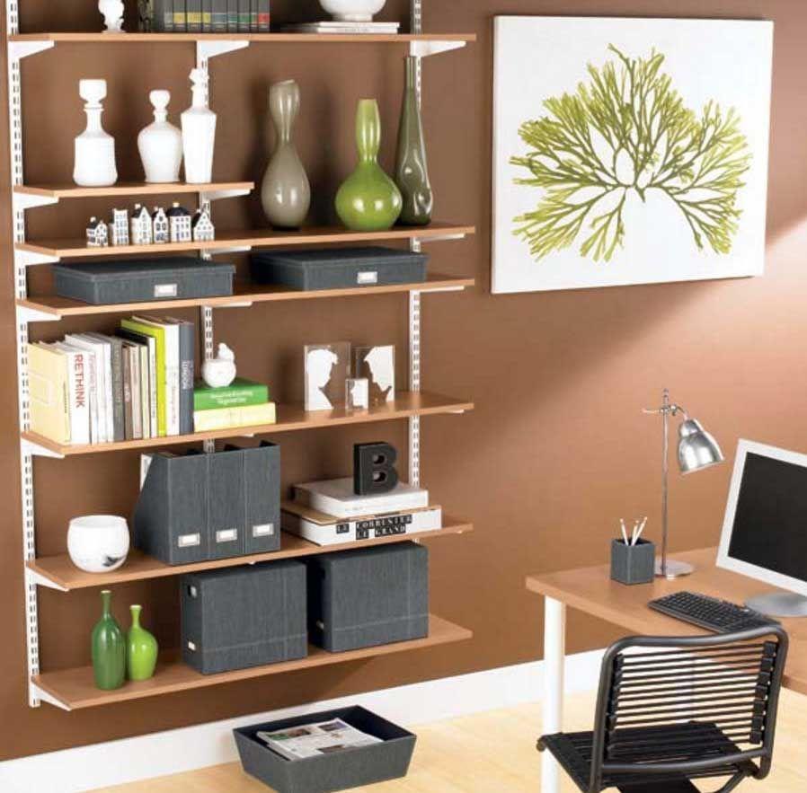 home office shelving ideas. Bookshelf Decorating Ideas, Ideas Living Room, Rustic, Bedrooms. Home Office Shelving V