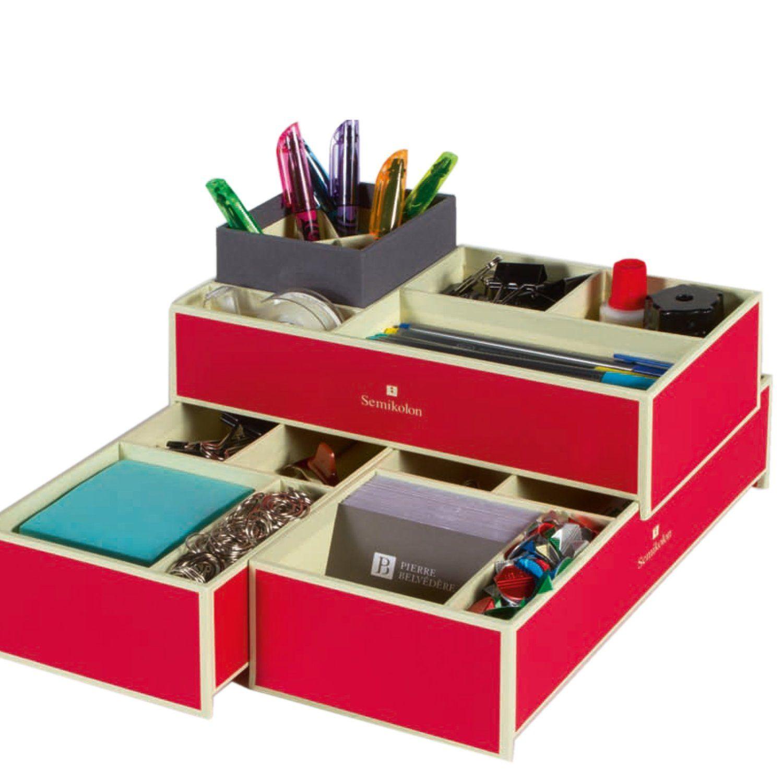 Stapelbare Boxen rot für A4 Ablage +++ SAMMELBOXEN AUFBEWAHRUNGSBOXEN +++ Semikolon Qualität: Amazon.ca: Office Products