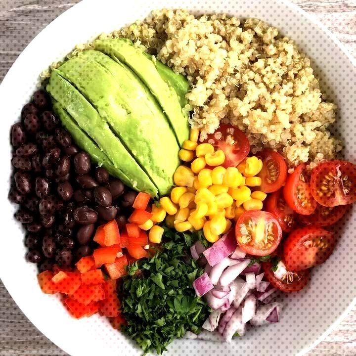 Quinoa Buddha Bowl - Bowl