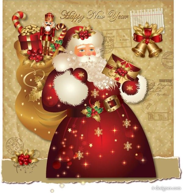 Santa Christmas Cards - Christmas Moment Projects to Try