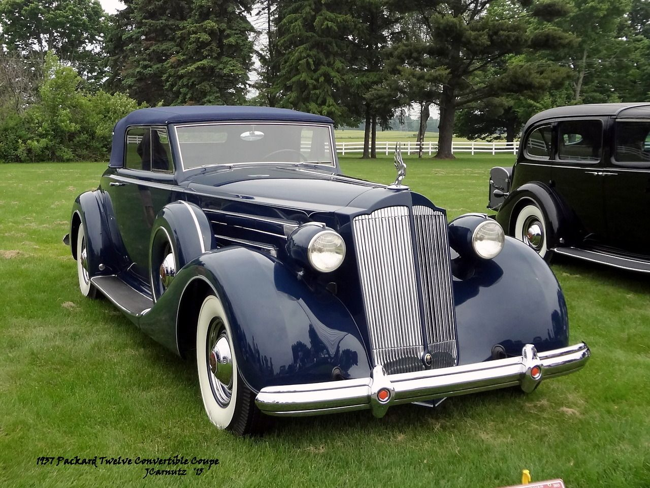 Carnutzphoto Packard Twelve Convertible Coupe Classic Car - Classic car club of america