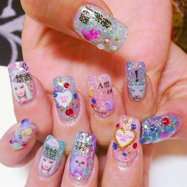 Barbie Design Nail Art, Yay or Nay? ♥ | Nails, Make-Up, Quotes ...