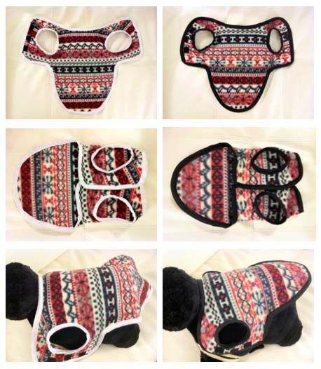 DIY Winter Coats for Doggies | Hunde, Hundekleidung und Katzen kleidung