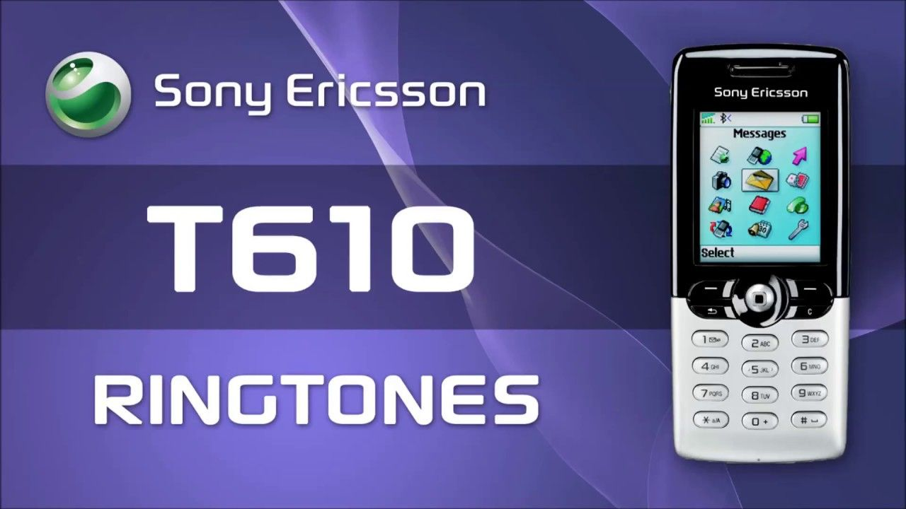 Sony Ericsson T610 Ringtones (Original) | Useful item | Sony