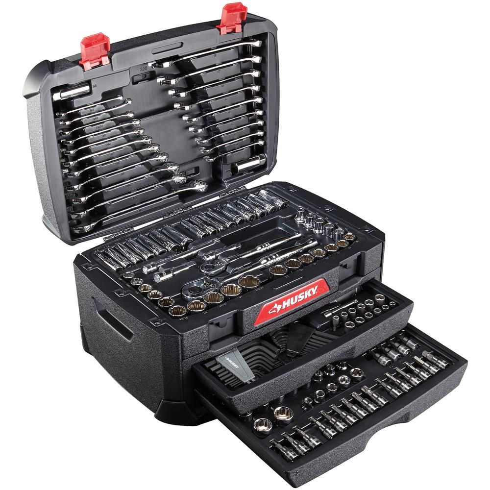 Husky Mechanics Tool Set 268 Piece H268mts Mechanic Tools