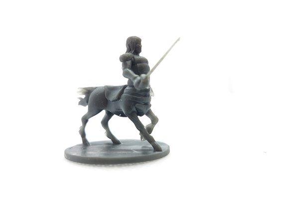 dungeons dragons centaur resin 3d printed centaur 3d custom