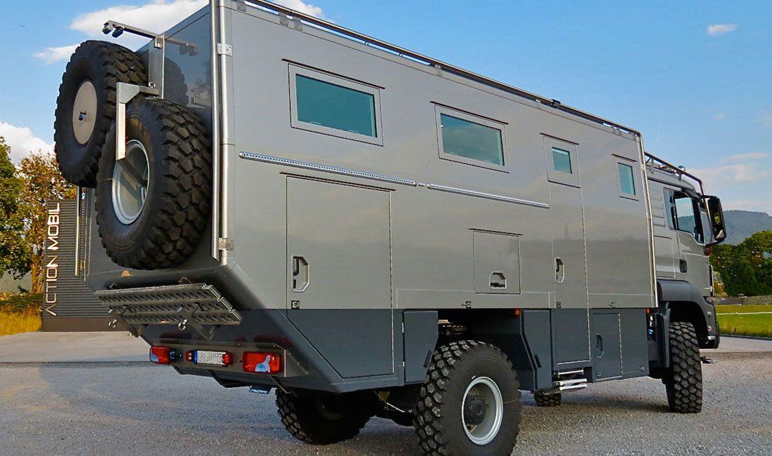 Luxury Off Road Camper Atacama 6300 World Travel Vehicle Of Action Mobil
