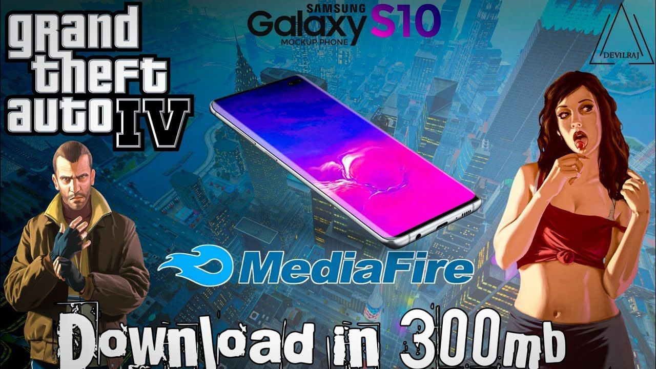 Download Gta Iv For Android In Just 300mb Direct Mediafire