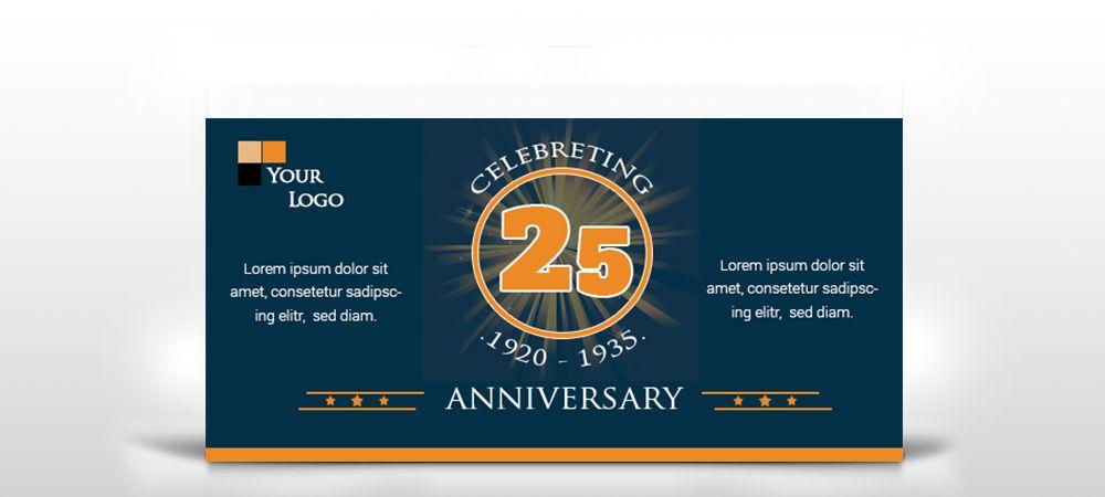 Anniversary Banner Bittary Anniversary Banner Company Anniversary Anniversary