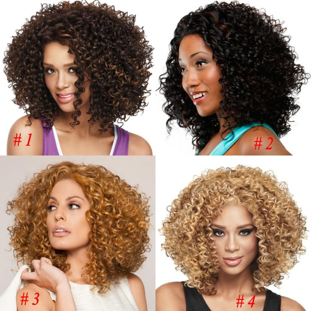 Best African American Hair Products 2015 African American Wigs Synthetic Fiber Lace Front Short Afro Kinky Curly Hair Wigs For Black Women Fashion 3 Styles Brazilian Hair Weave Hairpieces For African American From Cc_bridal, $15.71| Dhgate.Com