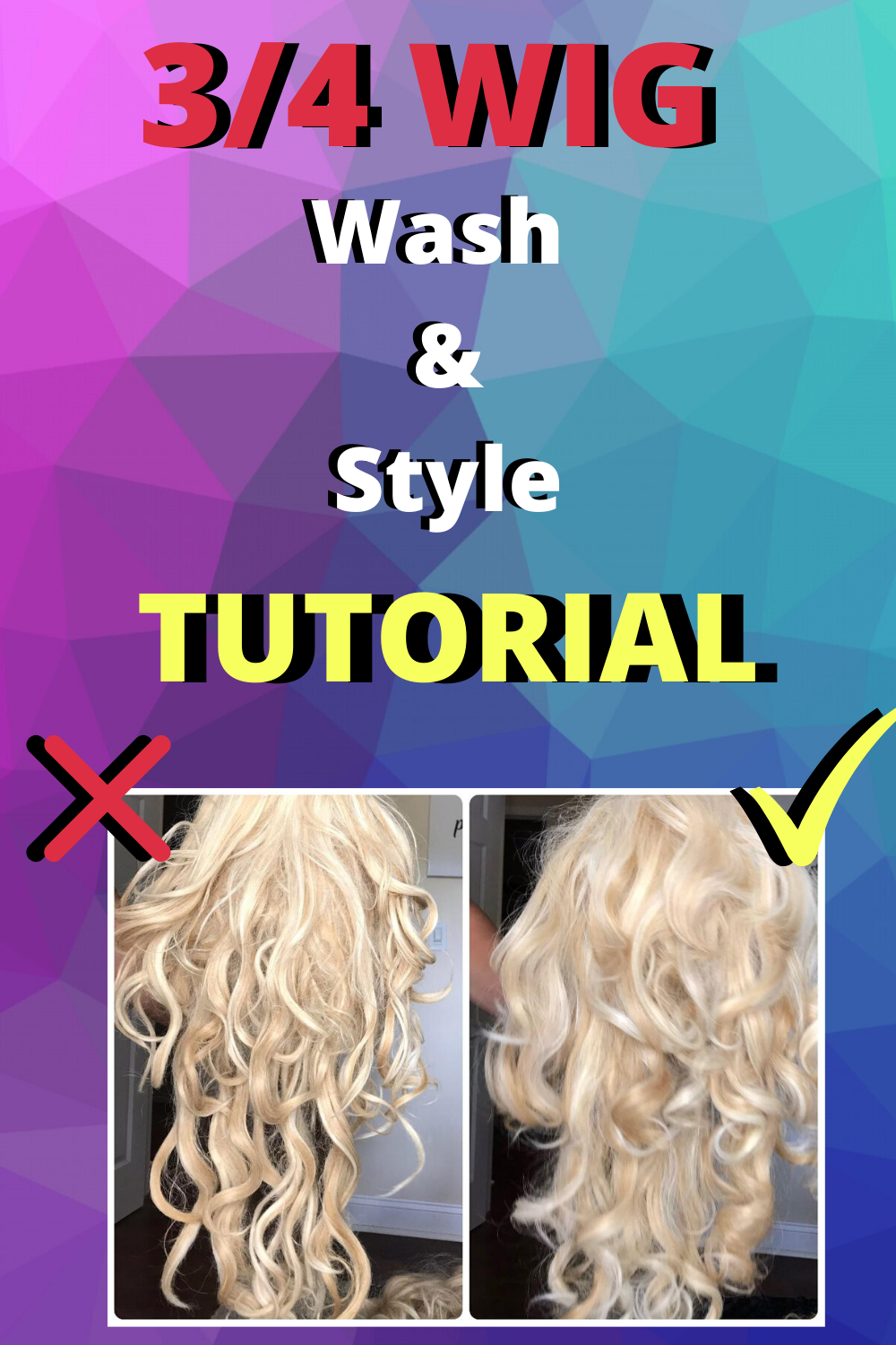 How To Wash Style A Hairpiece Synthetic Wig Care In 2020 Synthetic Hair Care Hair Pieces Synthetic Wigs