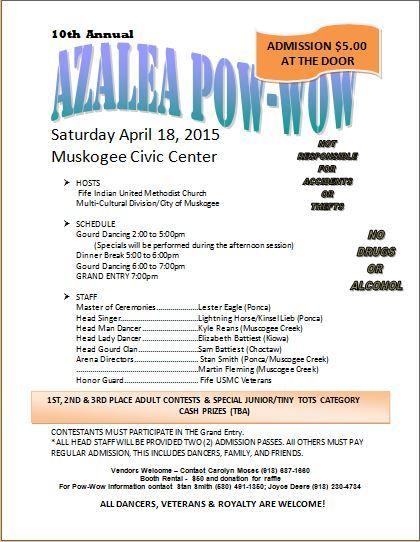 10th Annual Azalea Pow-Wow