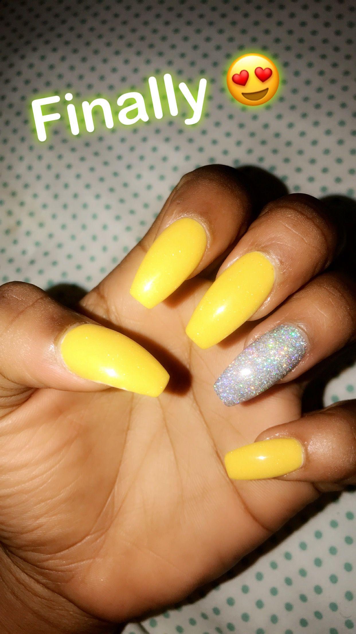 Pinterest Oddlyunique4 Acrylic Nails Yellow Best Acrylic Nails Square Acrylic Nails