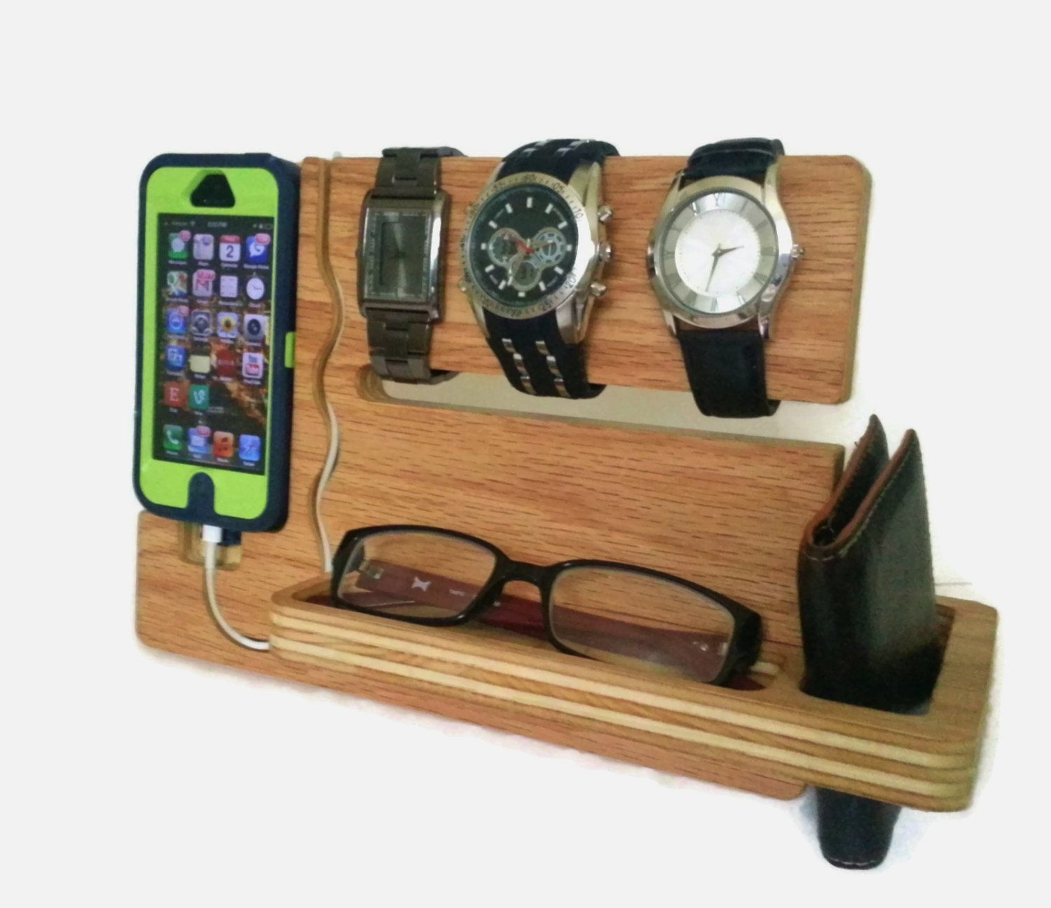 Dock Furniture Ideas Watch And Eye Dock Iphone 4 4s 5 5s 5c Valet By