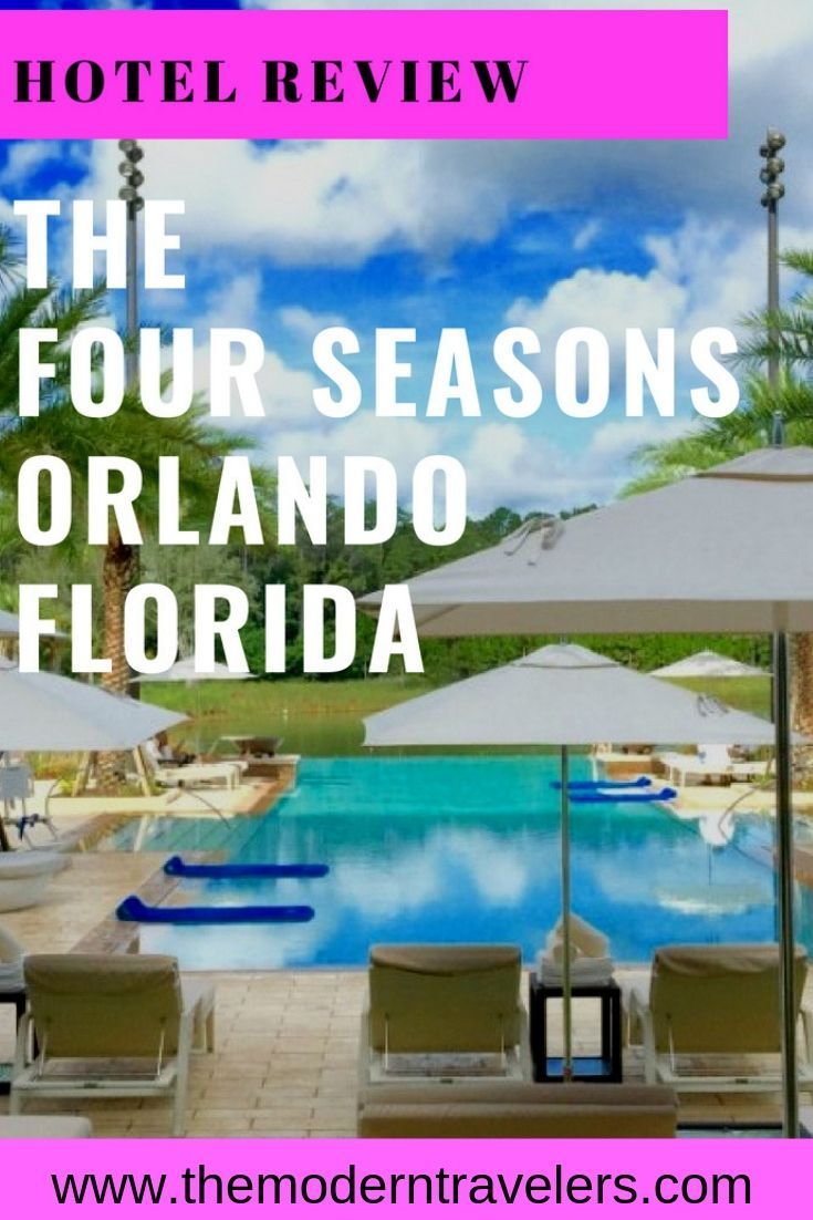 Four Seasons Orlando Hotel Review Food Options, Where to