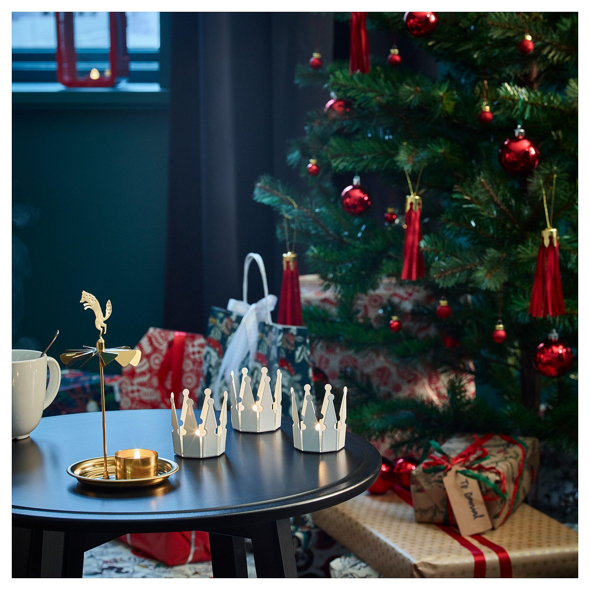 VINTER 2018 Tealight holder angel chimes IKEA