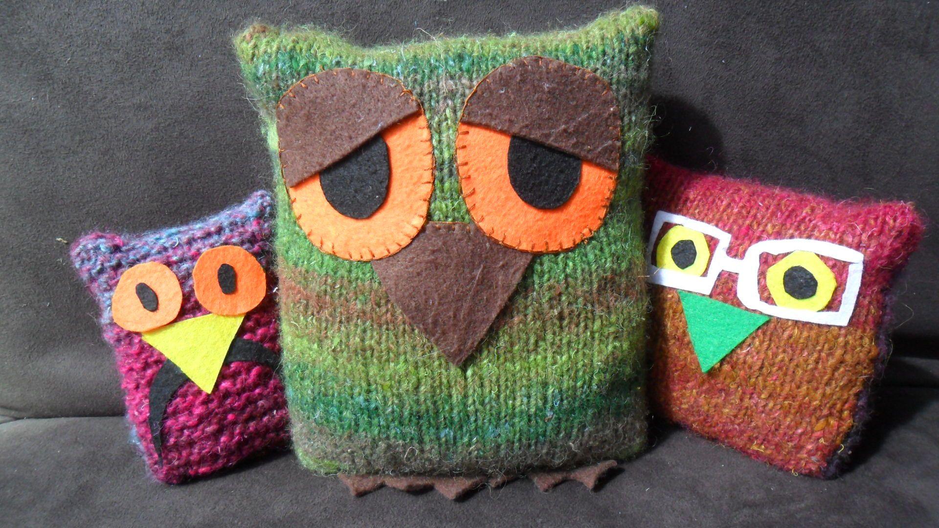Free Owl Knitting Pattern Simple Inspiration Design