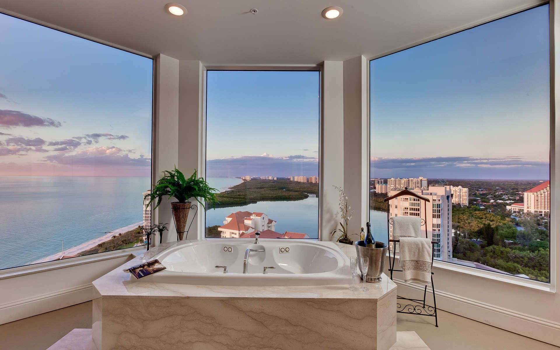 40 Stunning Luxury Bathrooms with Incredible Views Interior work