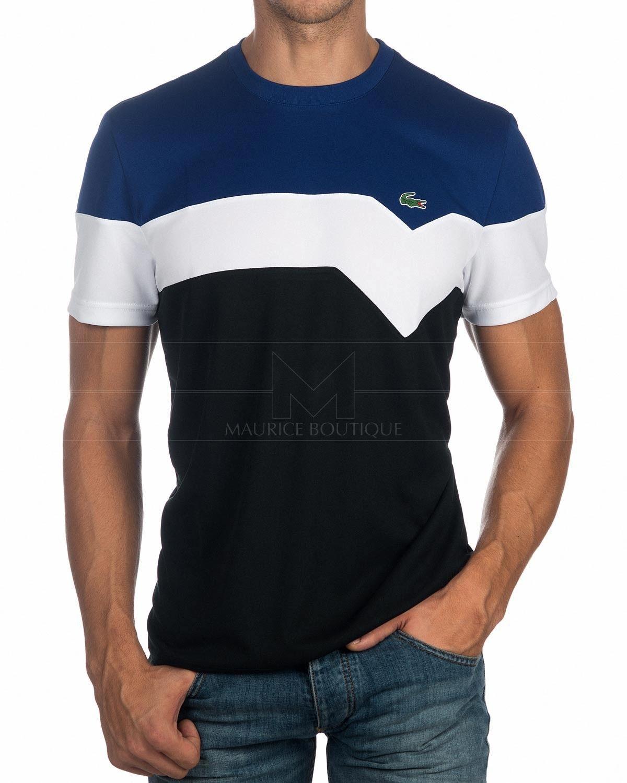f0ce9ce605bd 2019的Camiseta Lacoste Sport - Tricolor