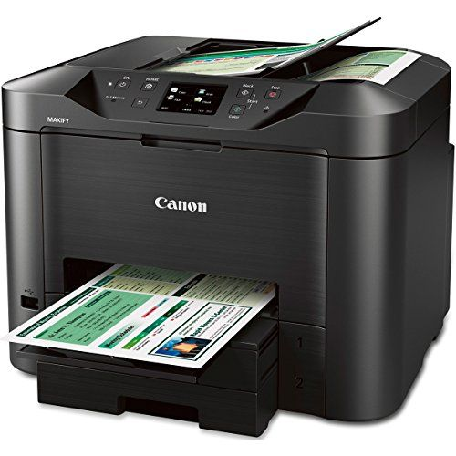Canon Maxify Mb5320 Wireless Office All In One Inkjet Printer With Mobile And Tablet Printing And Airprint And G Printer Scanner Copier Printer Inkjet Printer