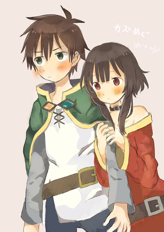 Shipping Intensifies Kazuma And Megumin Flushed Together Konosuba
