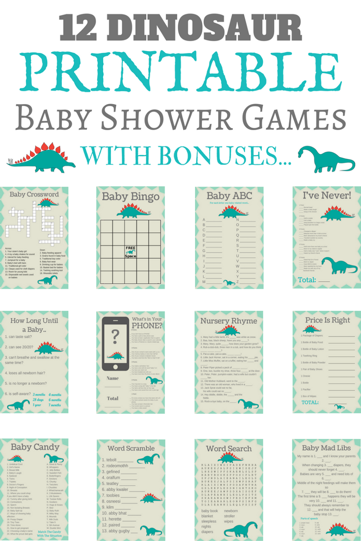 Price Is Right Adorable BABY BOY Baby Shower Game 20 Sheets Players So Cute!