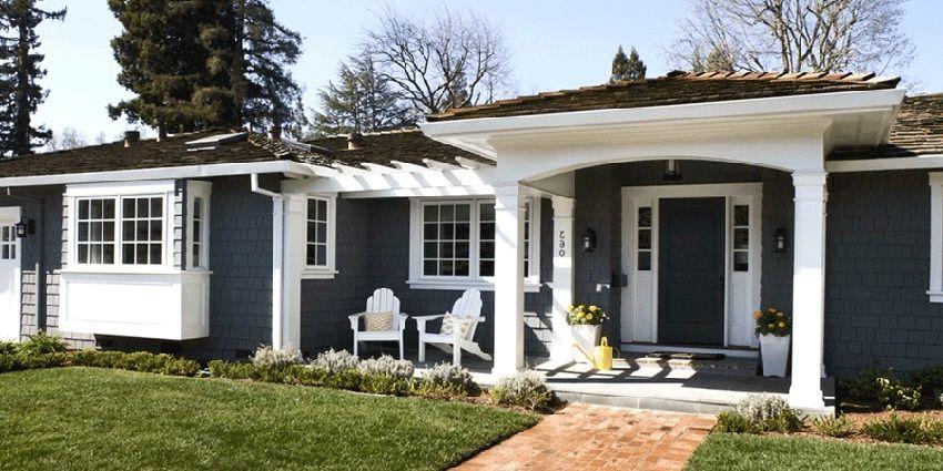 Bhg Exterior Paint Color Most Popular 2018 2019 Home