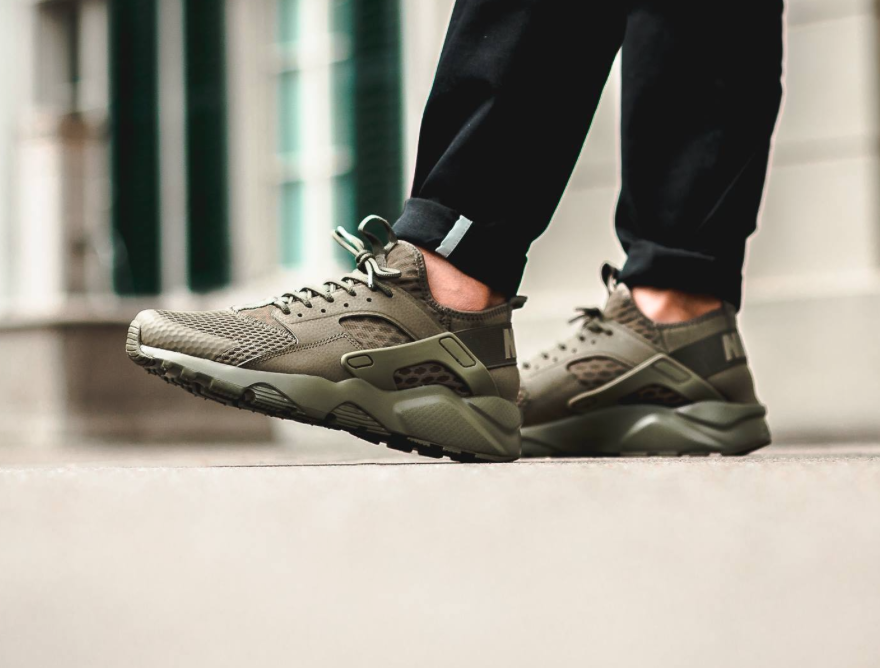 93a7fa568786 cheap nike air huarache army green giant 1cb39 0b992