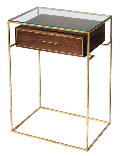 Small Space Solution 10 Bedside Tables With Drawers Vintage Industrial Furniture Furniture Side Tables Furniture Design
