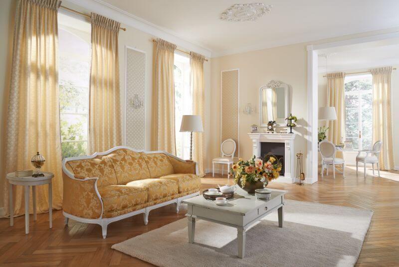 Wohnzimmer Gardine Creme Farbe Wohnzimmer Modern Gardinen