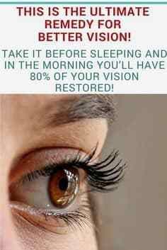 #lifestyle   #fitness #Ultimate #Remedy  This Is The Ultimate Remedy For Better Vision!