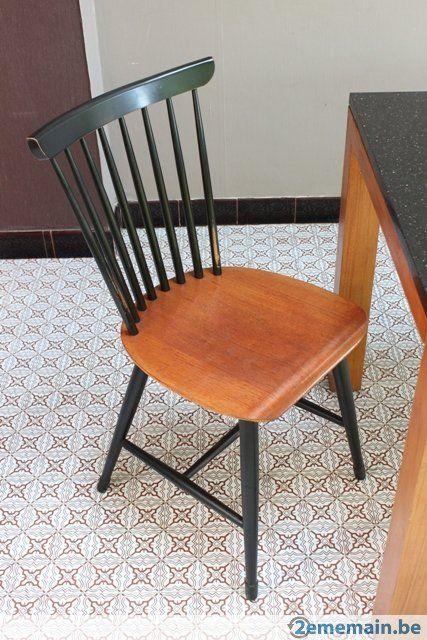 Vintage chaise scandinave a vendre chaise pinterest - Chaise vintage cleo alinea ...