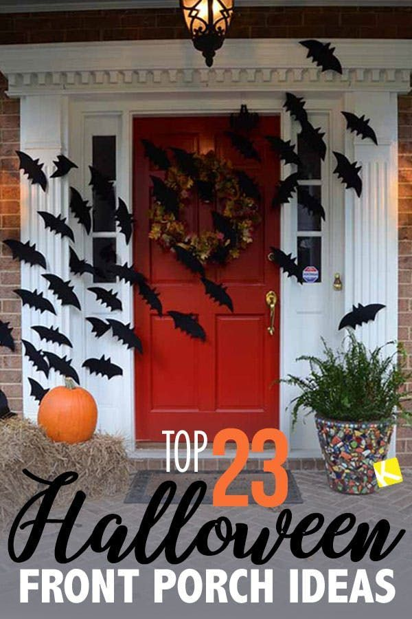 Internet Halloween 2020 Top 23 Halloween Front Porch Ideas on the Interin 2020