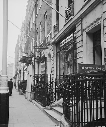 """Saville Row London 1950s 10"""" x 8"""" Promo Photograph   London, The row,  London pictures"""