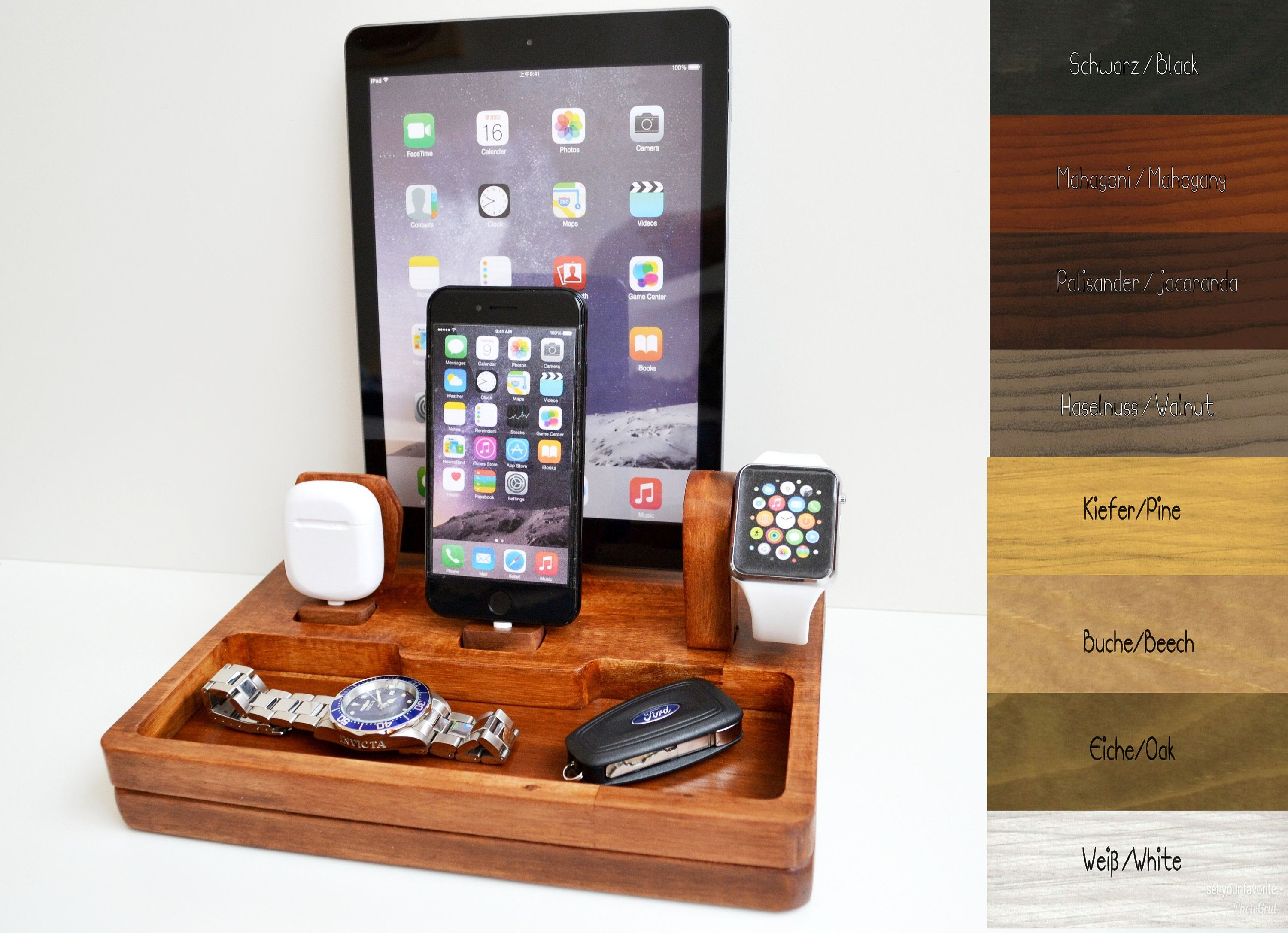 iphone ipad Apple Watch stand docking gift Apple Watch charging ...