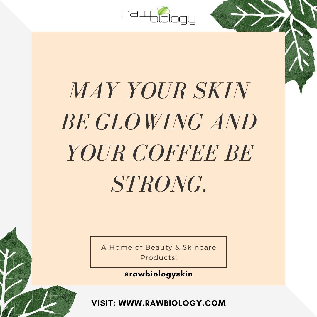 Thought of the day😇   ✅Visit Our Website: www.rawbiology.com  #skincareroutine #beautytips #acne #skincaredaily #healthyskincare #skincarecollection #organic #gogreen #clearskin #bodycare #skincarenatural #skincarecommunity #beautyhacks #skincaregoals #skincareproducts #nochemicals #skincaretips #antiaging #naturalbeauty #benatural #bereal #beraw