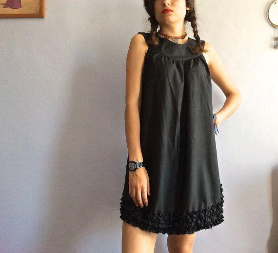 Petite robe noire en soie