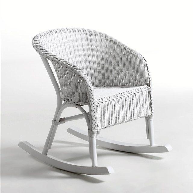 fauteuil bascule en rotin inqaluit la redoute. Black Bedroom Furniture Sets. Home Design Ideas