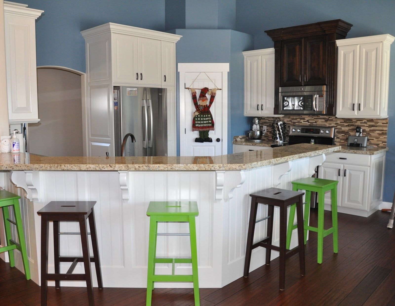 Off white kitchen cabinets kitchen cabinets off white with black walnut hood
